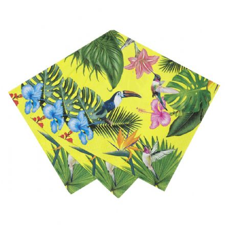 Truly Tropical Paper Napkins